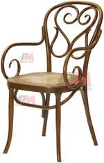 луксозни дървени столове Тонет за поставяне на открито