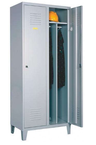 Метален гардероб Sum 421w на крачета