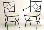 Проектиране и изработка на столове от ковано желязо