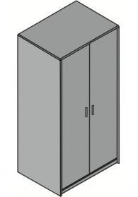 Офис гардероб 80/58/162см
